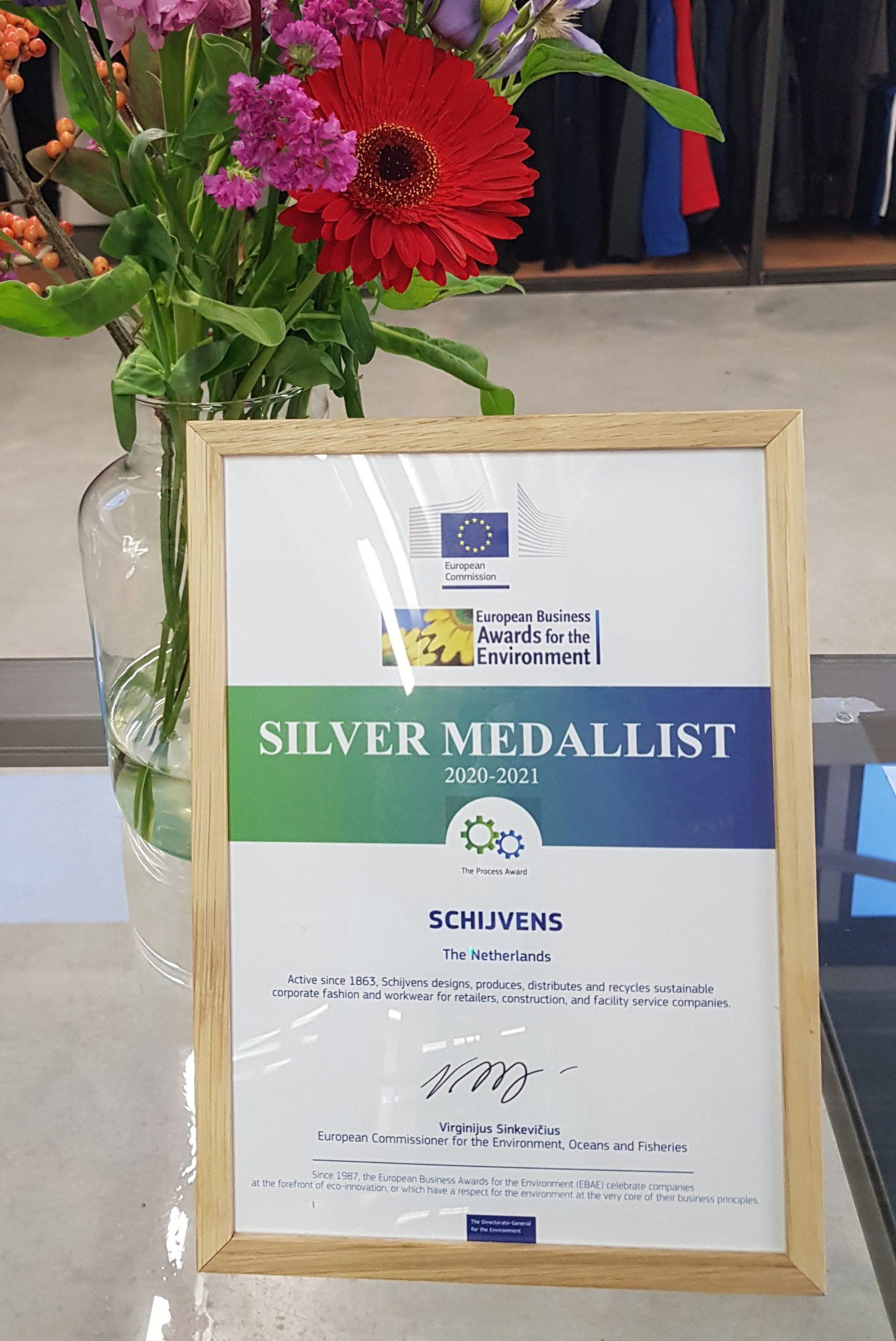 Silver medallist!